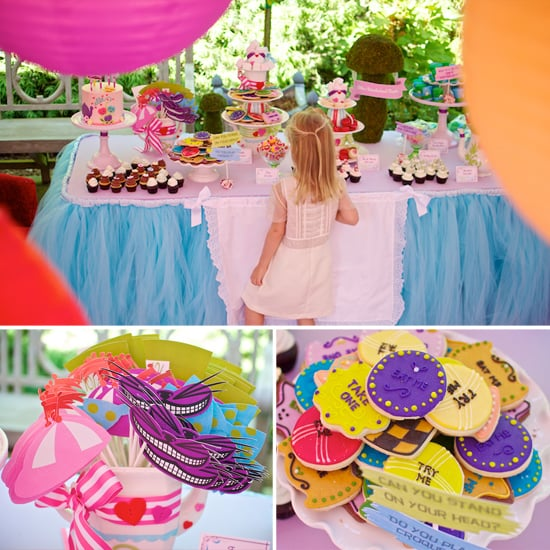 An Alice in Wonderland Birthday Party
