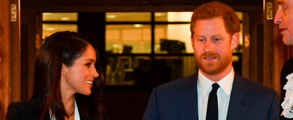 Meghan Markle Twinning With Prince Harry in a Suit Is EVERYTHING