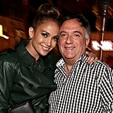 Jennifer Lopez posed with Robert Earl.