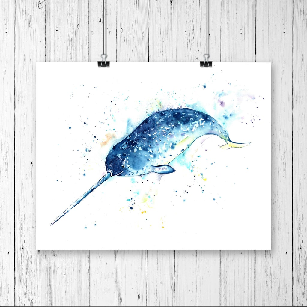 Narwhal Print ($11)