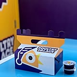 It comes in a cute Poultry Palace box, along with the dipping sauces of your choice.