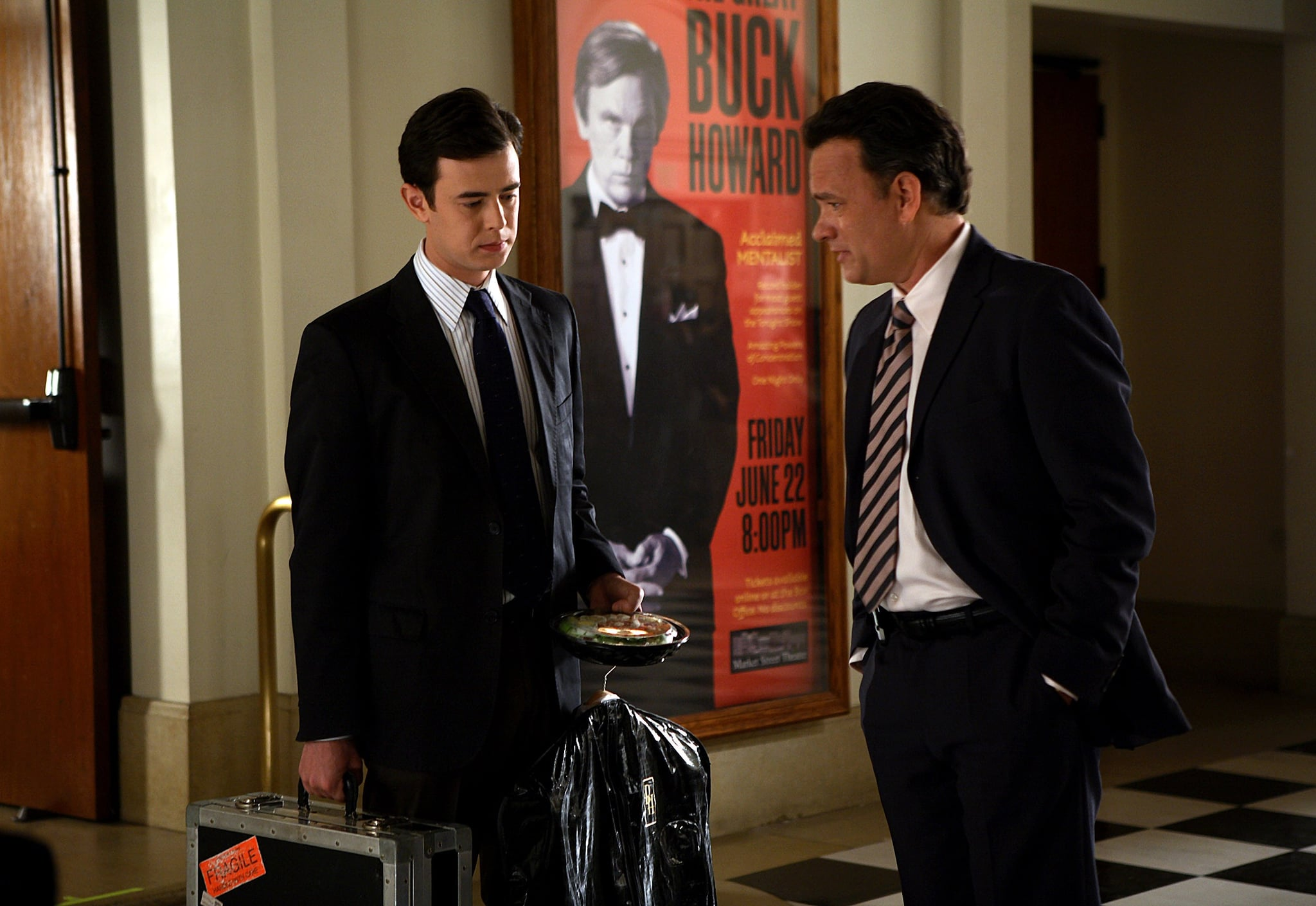 Colin and Tom Hanks