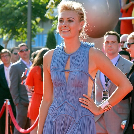 Maria Sharapova, Chanel Iman, Hayden Panetierre & more celebrities on the red carpet at the 2012 ESPY Awards