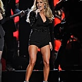 When you've got the goods, show them. Carrie's 2013 CMA Awards performance definitely caught our attention, but it was her stem-baring ensemble that put us under her style spell.