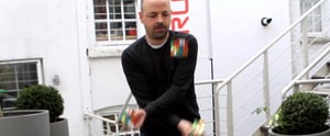 This Guy Solving 3 Rubik's Cubes While Juggling Is 100% Fake