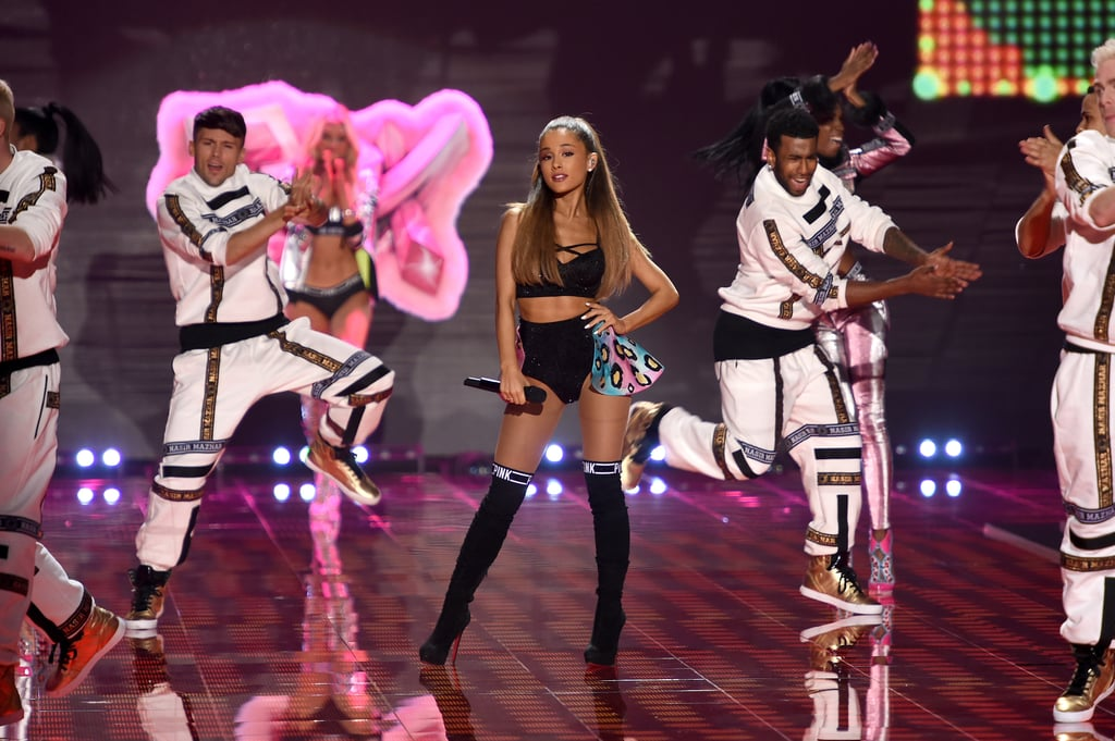Ariana Grande graced the stage in 2014.