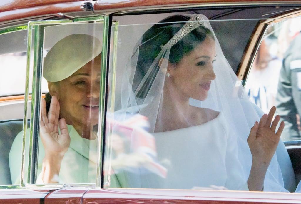 Meghan Markle's Mom's Dress at Royal Wedding 2018
