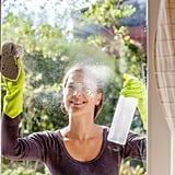 "<a href=""https://www.popsugar.com/smart-living/Uses-Vinegar-22333420"">Use vinegar to clean your home.</a>"