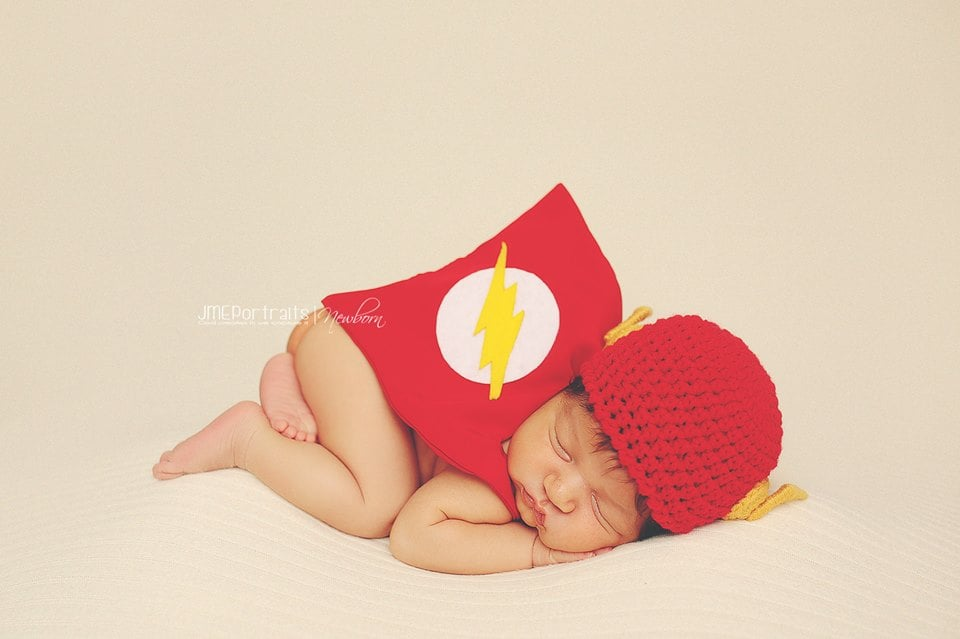 The Flash's strength comes from napping all day