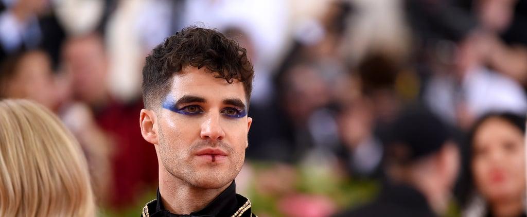 Darren Criss Makeup Met Gala 2019