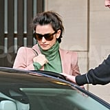 Penelope Cruz was picked up by a driver in London.