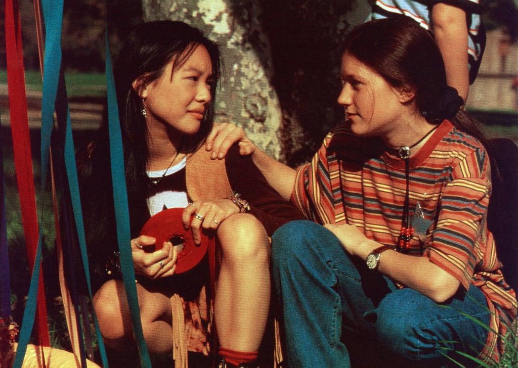 Tricia Joe (left) as Claudia Kishi