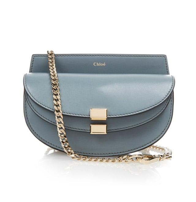 Chloé 'Georgia' Leather Cross-Body Bag ($813)