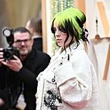 Billie Eilish's Hair at the 2020 Oscars