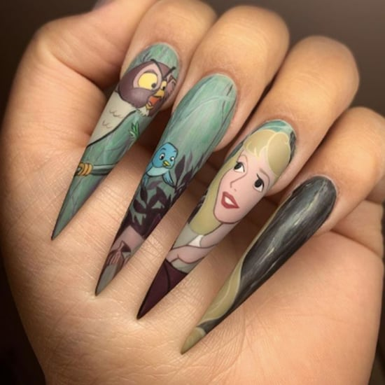 Sleeping Beauty Nail Art