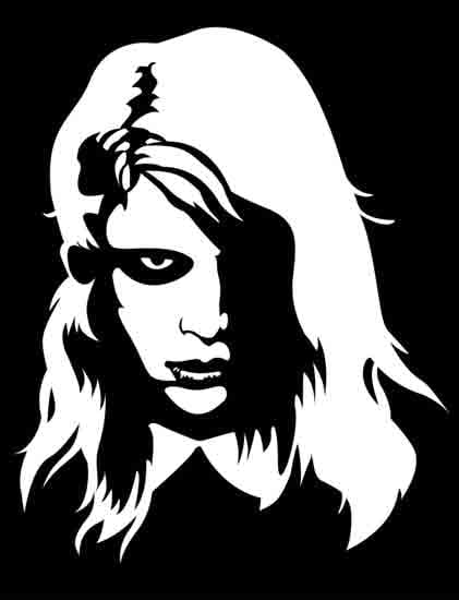 Night of the living dead zombie girl by zack m scary
