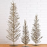 Brass Wire Evergreen ($48)