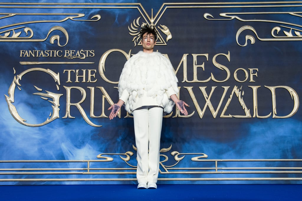 "Dear J.K. Rowling, I have an idea for you. Now, I know you get requests like this every day, but hear me out: I think we're ready for a Harry Potter reboot, with Ezra Miller playing every character. My Exhibit A? His full-fledged Hedwig ensemble at the Fantastic Beasts: The Crimes of Grindelwald premiere in London.  The 26-year-old actor doesn't hold back when he steps onto the red carpet. Case in point: his full-body puffer jacket from the film's Paris premiere. Still, none of us could have expected the absolute magic of his Nov. 13 outfit. Sure, Ezra's snowy-owl-inspired ensemble would've been legendary on its own, but he took things a step further by writing the Killing Curse, ""Avada Kedavra,"" over and over on the palms of his hands. And that's not all — a closer look shows a tiny owl atop Ezra's finger and the message ""Dumbledore's Army, Still Recruiting"" written on his shoes.  So you see, J.K. — may I call you J.K.? Sorry, erm, Ms. Rowling — Ezra's fit to play not only Credence or Hedwig, but also a member of the D.A., a Hogwarts student, a Dementor, a House Elf, Harry, Voldemort, or Peeves the Poltergeist. If you need further convincing, I invite you to check out the following premiere photos. No need to thank me."