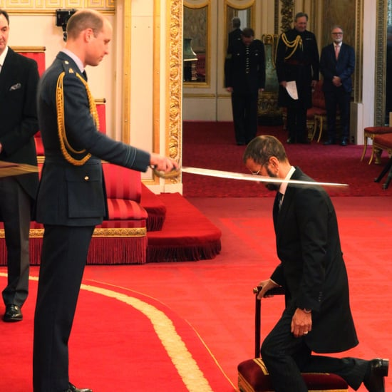 Prince William at Investiture Ceremony March 2018