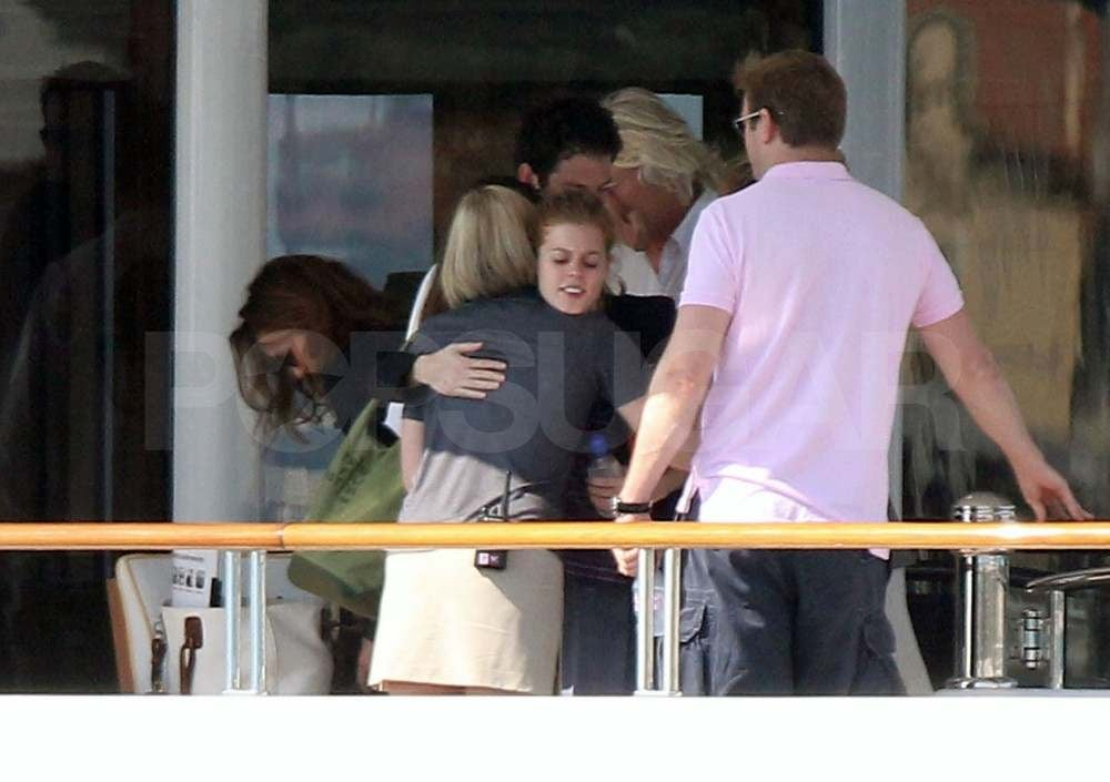Princess Beatrice and Dave Clark Enjoy a Yacht Lunch With Richard Branson