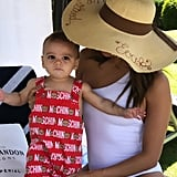 Eva Longoria Family Vacation Pictures in Spain July 2019