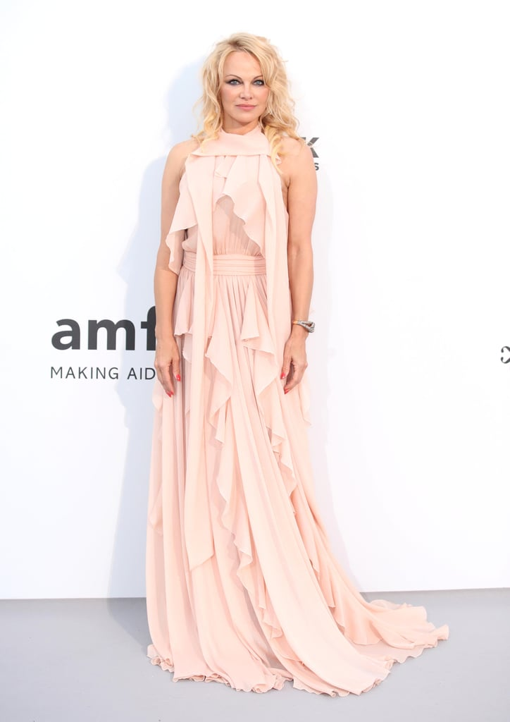 Pamela Anderson at the amfAR Cannes Gala