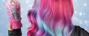 Unicorn Frappuccino Hair Is Now a Thing, Because Duh