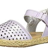 OshKosh B'Gosh Kids Georgette Girls' Closed-Toe Espadrille Sandal Wedge