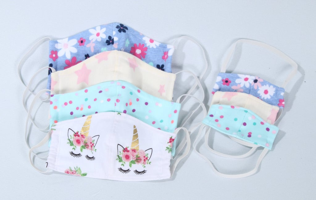 Washable Matching Kid and Doll Protective Face Masks