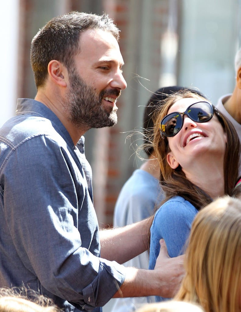 Ben Affleck and Jennifer Garner were very cute together during a PDA-filled family outing with their kids in LA in March 2013.