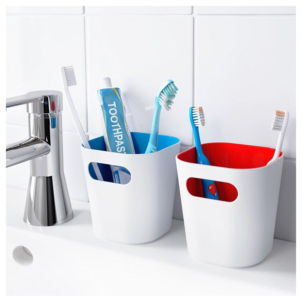 Ikea Toothbrush Holders and Towel Hook Set