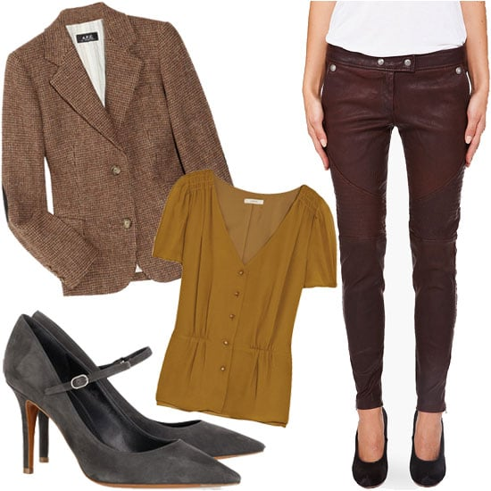 How to Wear Leather Pants For Fall