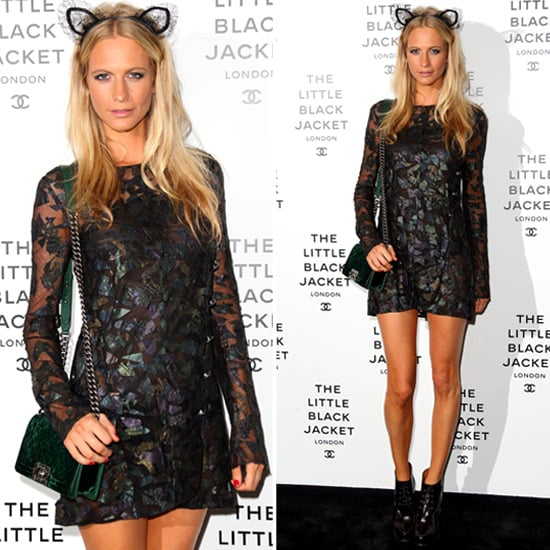 Poppy Delevingne Wearing Cat Ears   Pictures