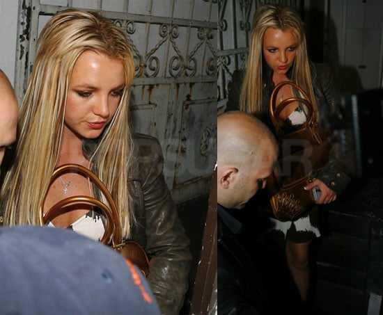 Britney Rocks the Cradle