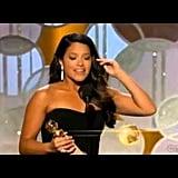 Gina Rodriguez: 2015 Golden Globes