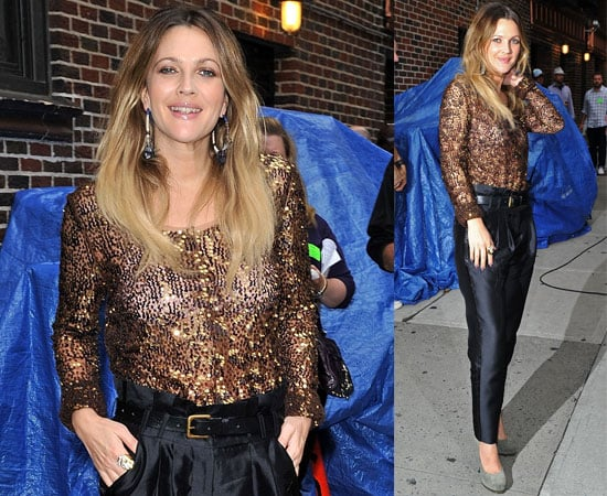 Pictures and Video of Drew Barrymore at the David Letterman Show For Going The Distance 2010-08-25 07:55:04