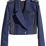 This military blazer (£34.99) is my favourite new piece.