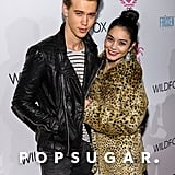 Vanessa Hudgens and Austin Butler arrived at the Wildfox Fall 2013 presentation on Wednesday.