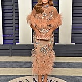 Chrissy Teigen at the 2019 Vanity Fair Oscars Party