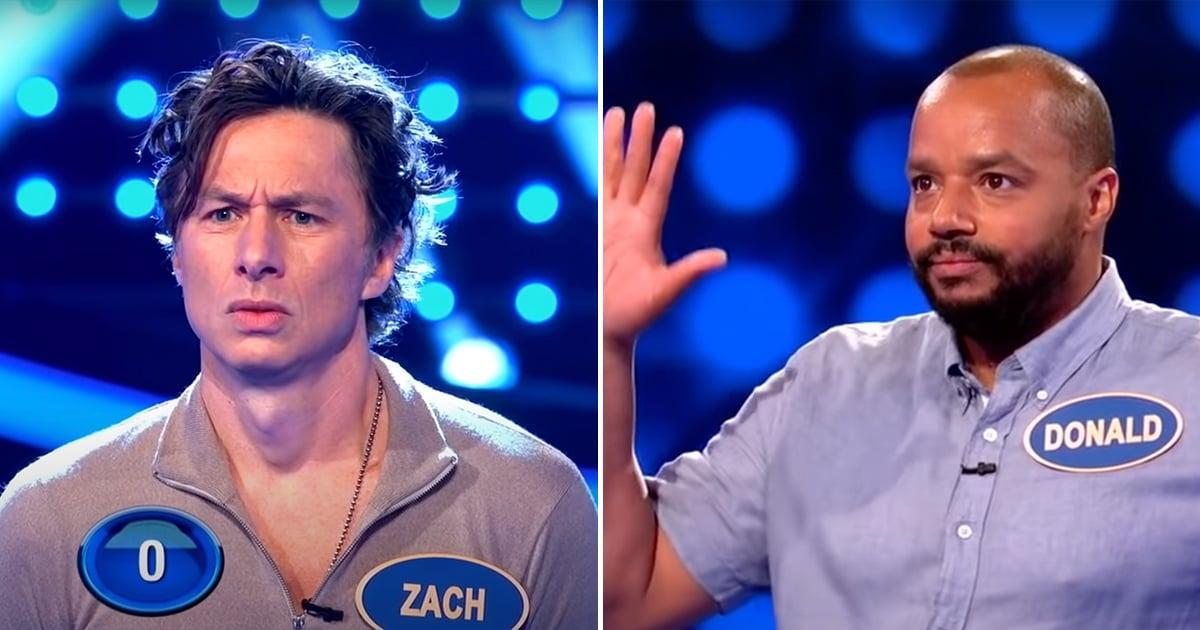 Zach Braff and Donald Faison Just Battled Their Scrubs Nemesis on Celebrity Family Feud.jpg