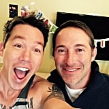 David Bromstad and Josh Temple