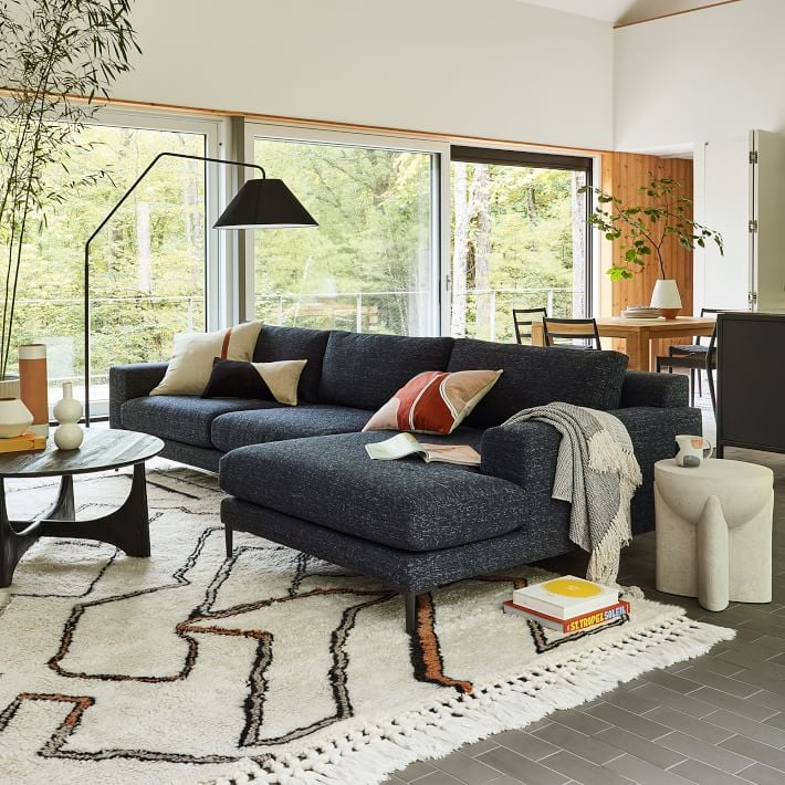 West Elm Harper 2-Piece Chaise Sectional