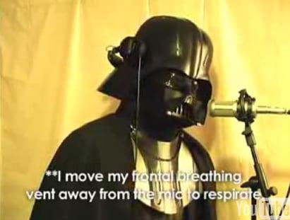 "Chad Vader Sings ""Chocolate Rain"""