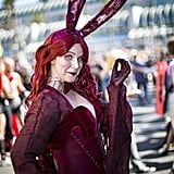 Playboy Bunny Melisandre From Game of Thrones