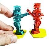 World's Smallest Rock 'Em Sock 'Em Robots