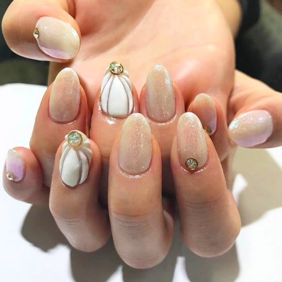 Seashell Nail Art Trend Summer 2017
