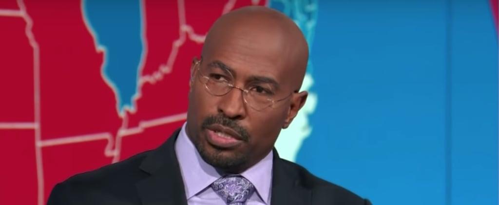 Watch Van Jones's Reaction to Election Night on CNN   Video