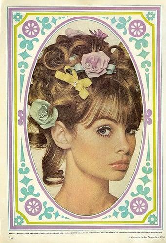 Retro beauty ads
