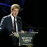 2014: Prince Harry hosts the first Invictus Games in London