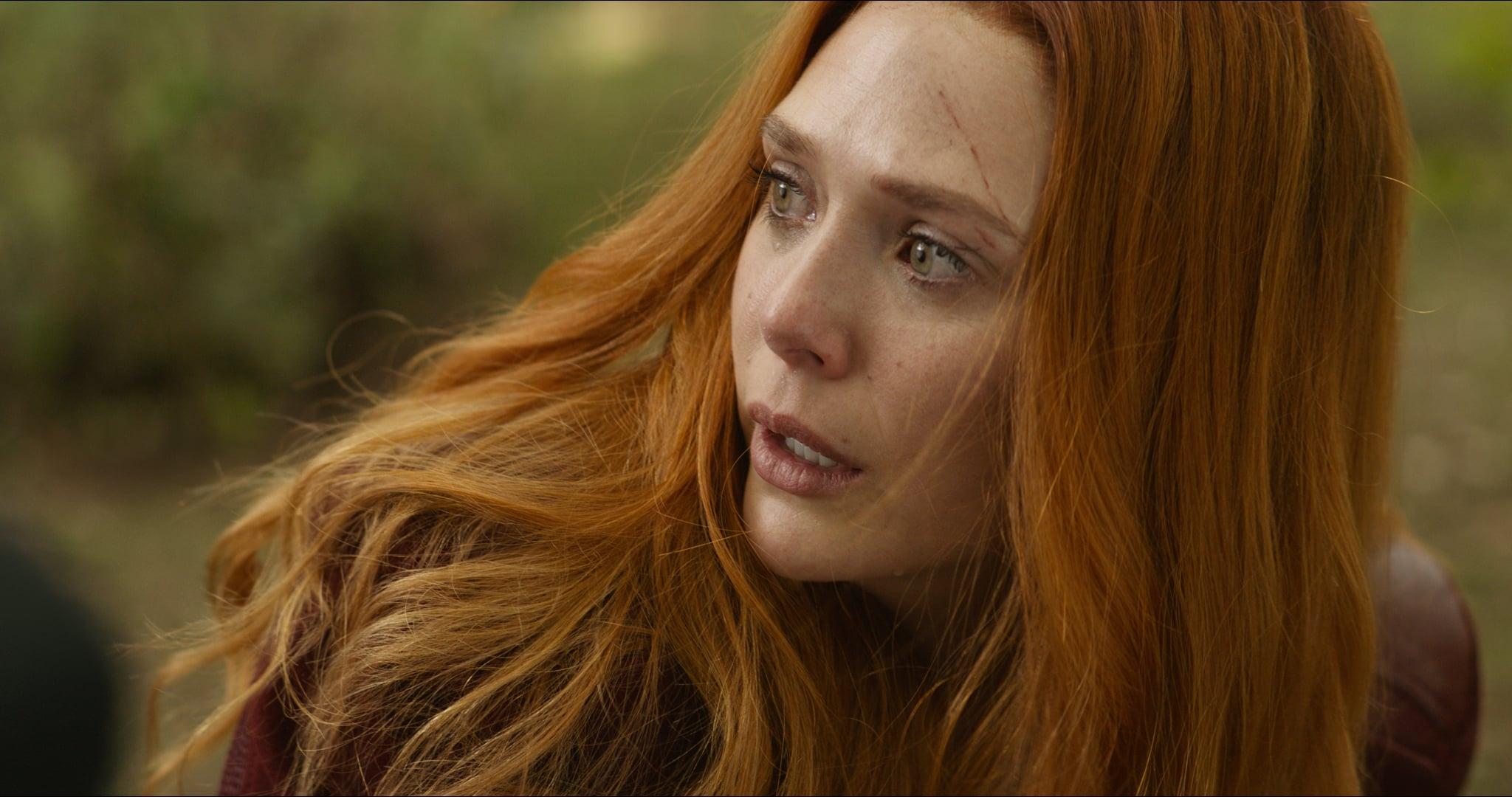 Marvel Studios' AVENGERS: INFINITY WAR..Scarlet Witch/Wanda Maximoff (Elizabeth Olsen)..Photo: Film Frame..©Marvel Studios 2018